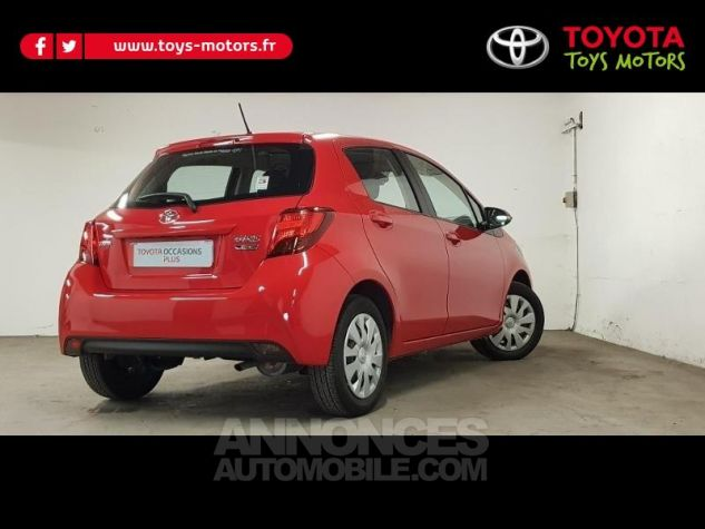 Toyota YARIS 69 VVT-i France 5p ROUGE CHILIEN Occasion - 4