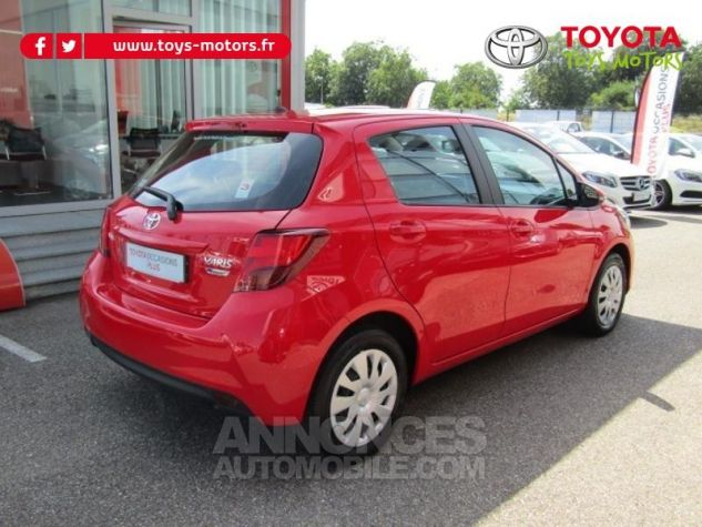 Toyota YARIS 69 VVT-i France 5p ROUGE CHILIEN Occasion - 2