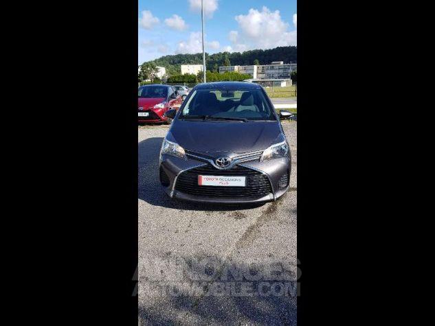 Toyota YARIS 69 VVT-i France 5p GRIS ATLAS Occasion - 0