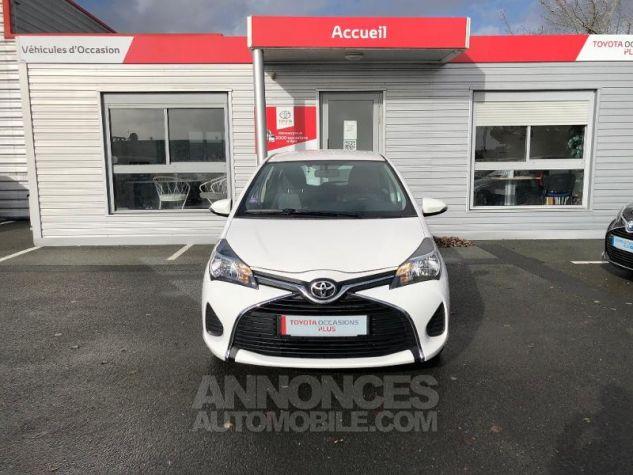 Toyota YARIS 69 VVT-i France 5p BLANC Occasion - 6