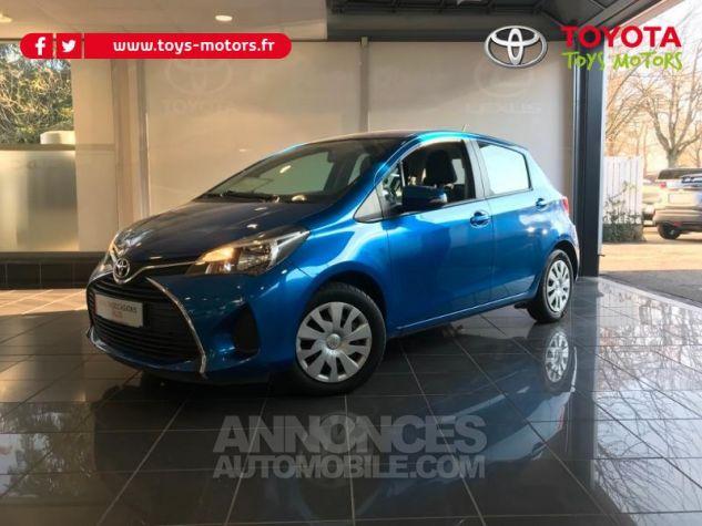Toyota YARIS 69 VVT-i France 5p BLEU LAGON Occasion - 0