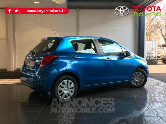 Toyota YARIS 69 VVT-i France 5p BLEU LAGON Occasion - 1