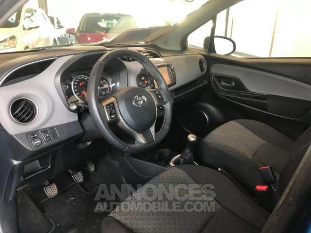 Toyota YARIS 69 VVT-i France 5p BLEU LAGON Occasion - 3
