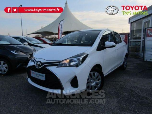 Toyota YARIS 69 VVT-i France 5p BLANC Occasion - 0
