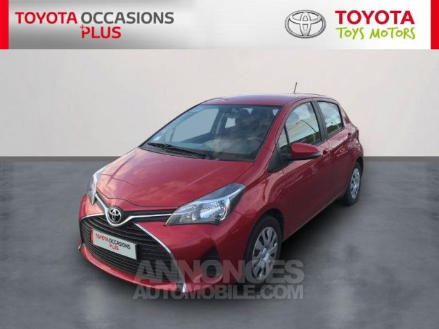 Toyota YARIS 69 VVT-i France 5p 3r3 Rouge Persan Occasion - 0
