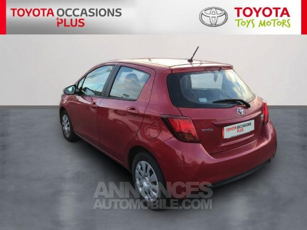 Toyota YARIS 69 VVT-i France 5p 3r3 Rouge Persan Occasion - 1