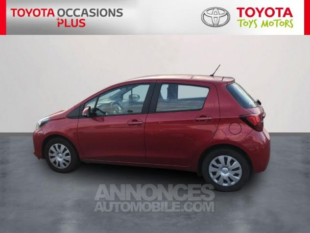 Toyota YARIS 69 VVT-i France 5p 3r3 Rouge Persan Occasion - 2