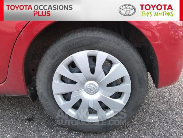 Toyota YARIS 69 VVT-i France 5p 3r3 Rouge Persan Occasion - 3