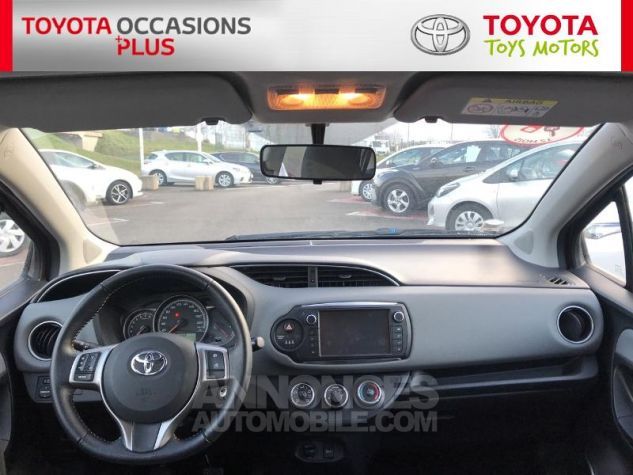 Toyota YARIS 69 VVT-i France 5p 3r3 Rouge Persan Occasion - 4