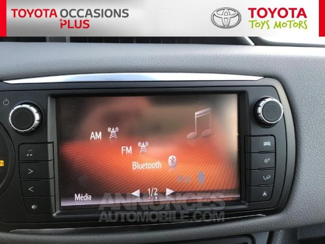 Toyota YARIS 69 VVT-i France 5p 3r3 Rouge Persan Occasion - 6