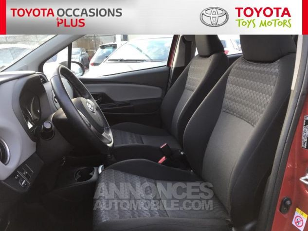 Toyota YARIS 69 VVT-i France 5p 3r3 Rouge Persan Occasion - 12