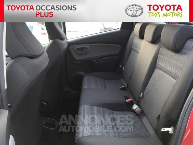 Toyota YARIS 69 VVT-i France 5p 3r3 Rouge Persan Occasion - 13