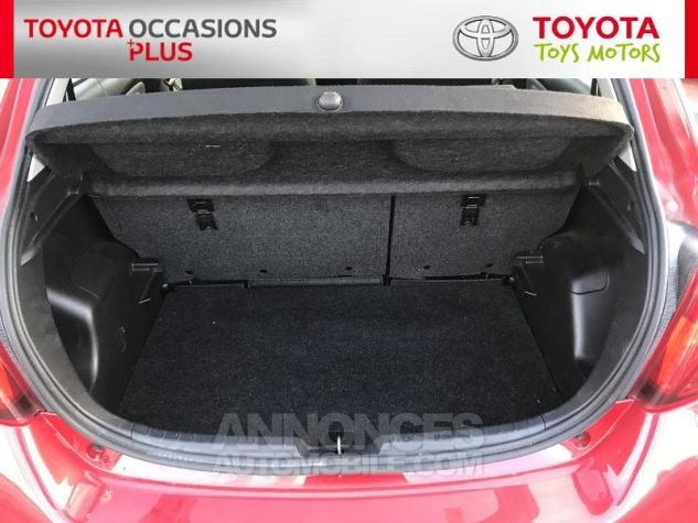 Toyota YARIS 69 VVT-i France 5p 3r3 Rouge Persan Occasion - 14