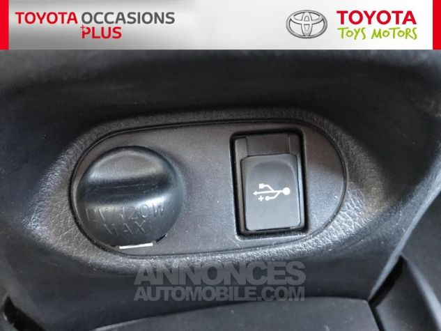 Toyota YARIS 69 VVT-i France 5p 3r3 Rouge Persan Occasion - 15