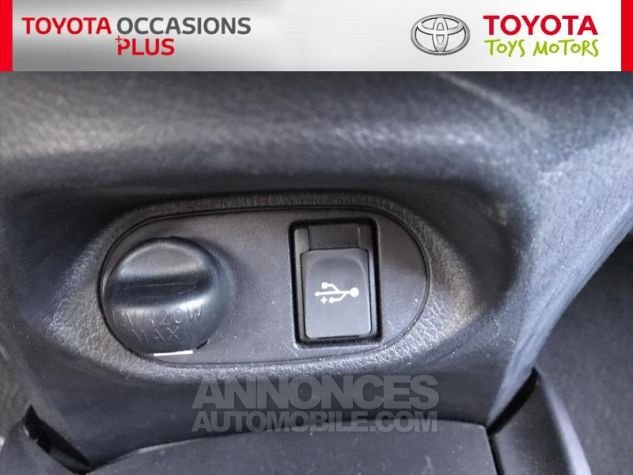 Toyota YARIS 69 VVT-i France 5p 3r3 Rouge Persan Occasion - 18