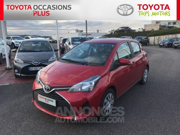 Toyota YARIS 69 VVT-i France 5p 3r3 Rouge Persan Occasion - 19