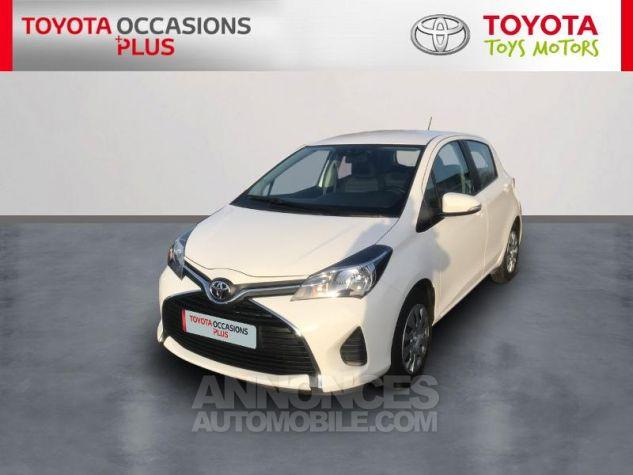 Toyota YARIS 69 VVT-i France 5p 040 Blanc Pur Occasion - 0