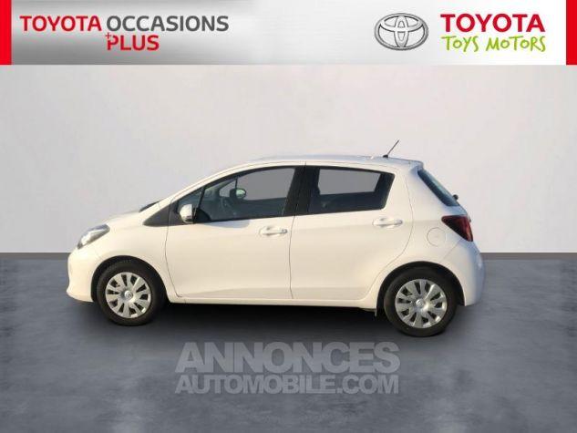 Toyota YARIS 69 VVT-i France 5p 040 Blanc Pur Occasion - 2