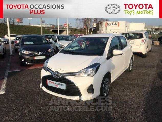 Toyota YARIS 69 VVT-i France 5p 040 Blanc Pur Occasion - 18