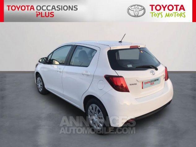 Toyota YARIS 69 VVT-i France 5p 040 Blanc Pur Occasion - 1