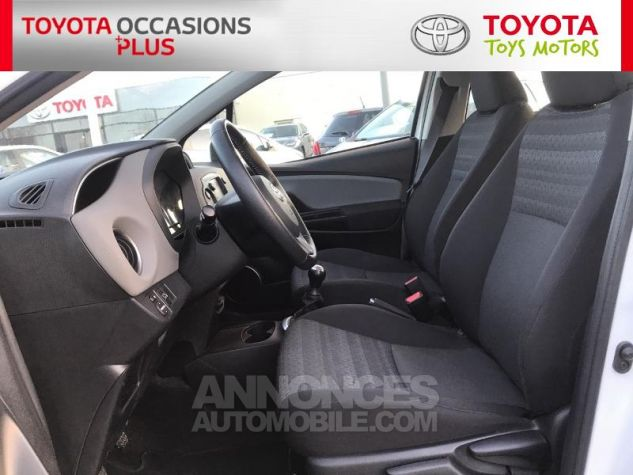 Toyota YARIS 69 VVT-i France 5p 040 Blanc Pur Occasion - 12