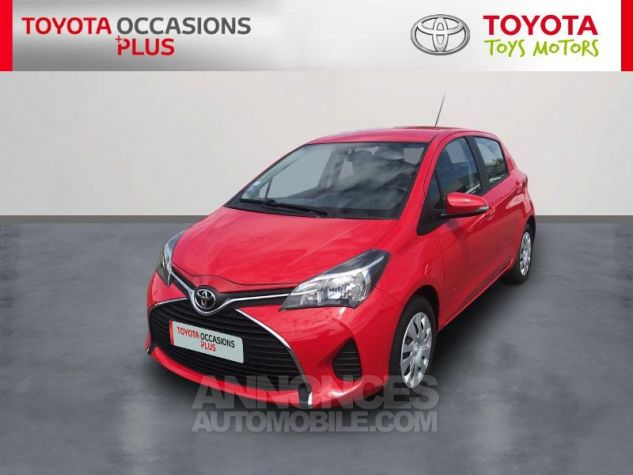 Toyota YARIS 69 VVT-i France 5p Rouge Occasion - 0