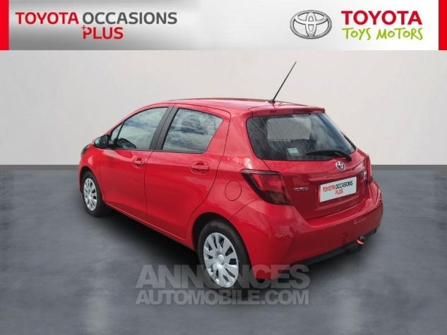 Toyota YARIS 69 VVT-i France 5p Rouge Occasion - 1