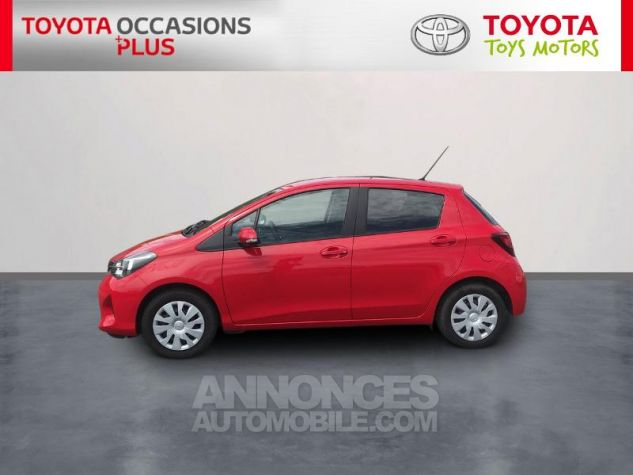 Toyota YARIS 69 VVT-i France 5p Rouge Occasion - 2