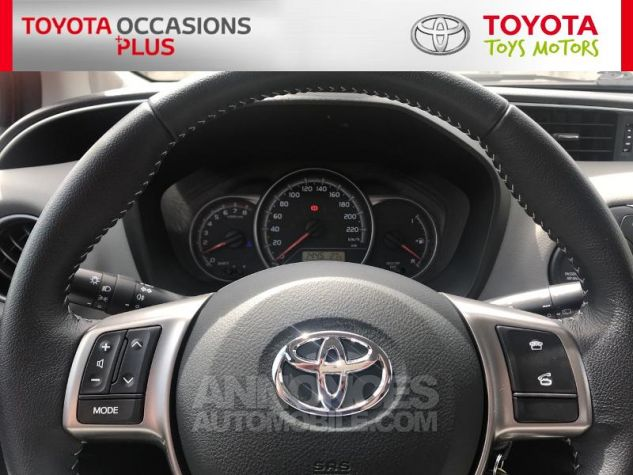 Toyota YARIS 69 VVT-i France 5p Rouge Occasion - 7