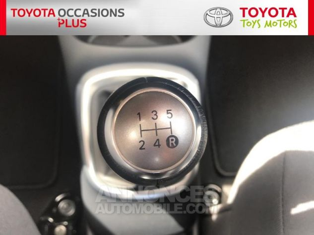 Toyota YARIS 69 VVT-i France 5p Rouge Occasion - 8