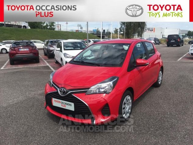 Toyota YARIS 69 VVT-i France 5p Rouge Occasion - 19