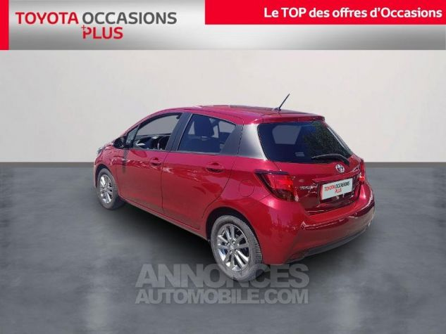Toyota YARIS 69 VVT-i TechnoLine 5p ROUGE Occasion - 1