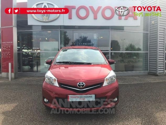 Toyota YARIS 69 VVT-i Tendance 5p ROUGE Occasion - 0