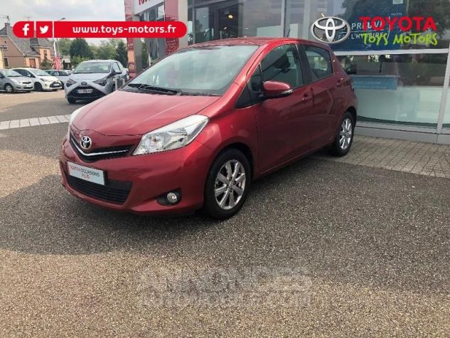 Toyota YARIS 69 VVT-i Tendance 5p ROUGE Occasion - 1