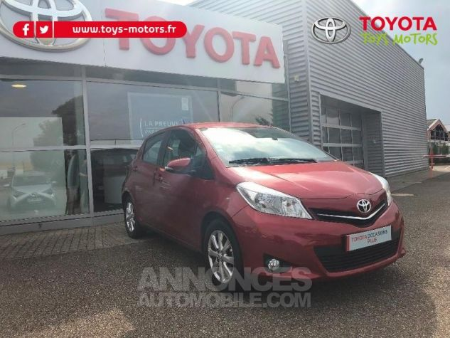 Toyota YARIS 69 VVT-i Tendance 5p ROUGE Occasion - 2