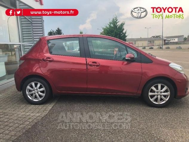Toyota YARIS 69 VVT-i Tendance 5p ROUGE Occasion - 3