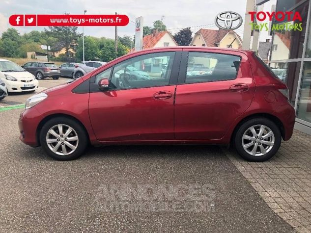 Toyota YARIS 69 VVT-i Tendance 5p ROUGE Occasion - 4