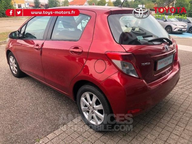 Toyota YARIS 69 VVT-i Tendance 5p ROUGE Occasion - 5