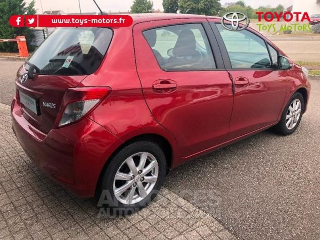 Toyota YARIS 69 VVT-i Tendance 5p ROUGE Occasion - 6