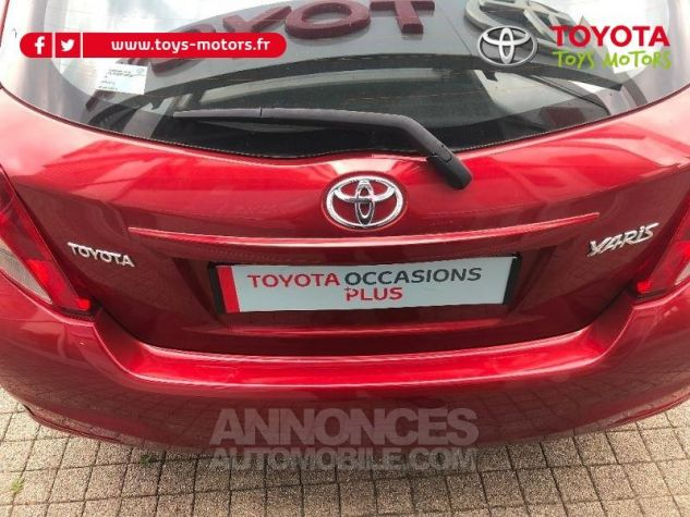 Toyota YARIS 69 VVT-i Tendance 5p ROUGE Occasion - 7