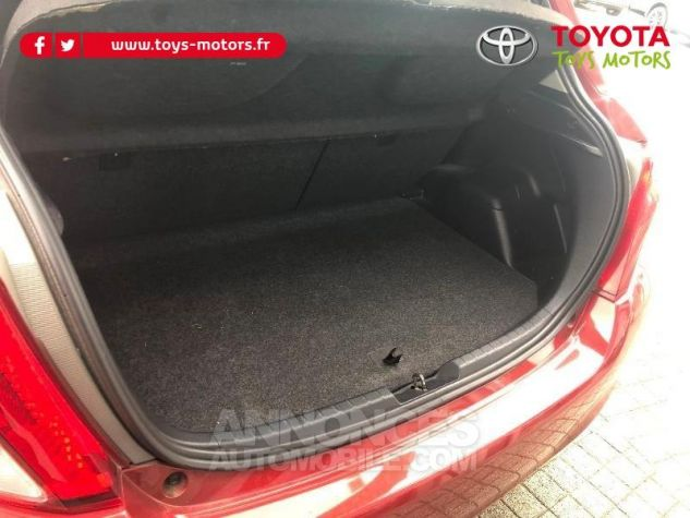 Toyota YARIS 69 VVT-i Tendance 5p ROUGE Occasion - 8