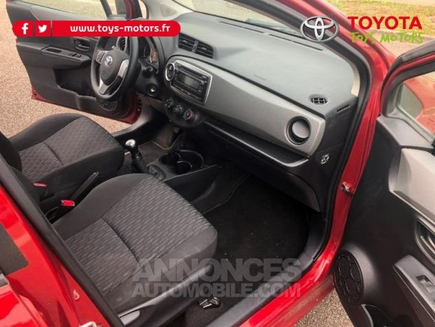 Toyota YARIS 69 VVT-i Tendance 5p ROUGE Occasion - 10