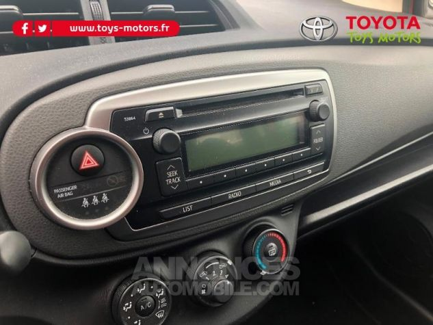 Toyota YARIS 69 VVT-i Tendance 5p ROUGE Occasion - 16