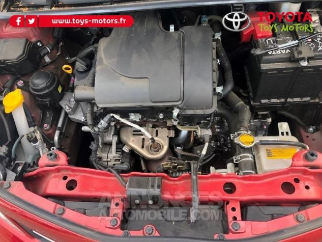 Toyota YARIS 69 VVT-i Tendance 5p ROUGE Occasion - 17