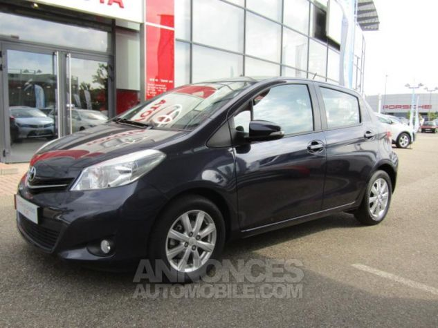 Toyota YARIS 69 VVT-i Tendance 5p Pourpre Occasion - 0