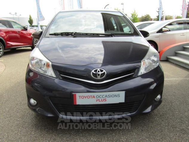 Toyota YARIS 69 VVT-i Tendance 5p Pourpre Occasion - 1