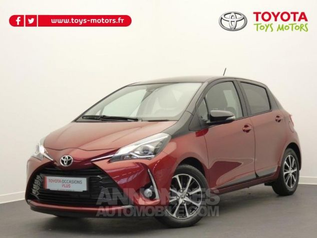 Toyota YARIS 70 VVT-i Design 5p RC18 BI-TON ROUGE ALLURE Occasion - 0