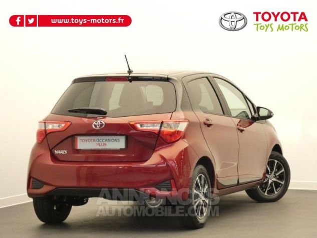 Toyota YARIS 70 VVT-i Design 5p RC18 BI-TON ROUGE ALLURE Occasion - 1