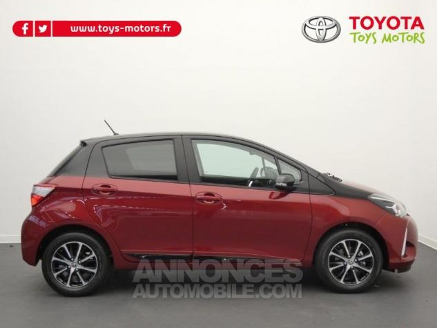 Toyota YARIS 70 VVT-i Design 5p RC18 BI-TON ROUGE ALLURE Occasion - 6