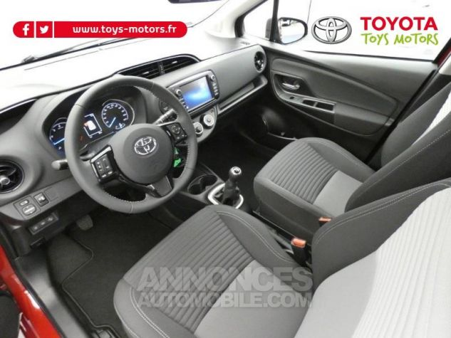 Toyota YARIS 70 VVT-i Design 5p RC18 BI-TON ROUGE ALLURE Occasion - 8